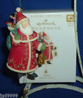 Hallmark Ornament Yuletide Treasures #1 2006 Santa Like Pull String Toy Movement