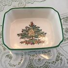 Vintage Holiday Dish Ashtray Style Spode England S3324-H Christmas Tree Nice