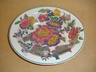 Beautiful Wedgwood Serving Bowl in Florals Done in Purples and Fuschia