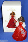 Hallmark Ornament Celebration Barbie 2012 Red Gown White Stole African American
