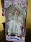 limited edition fine porcelain doll sabrina collection by sabrina carrera in box