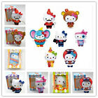 2013 McDonald's CIRCUS OF LIFE HELLO KITTY Set 7 Plush Doll 6'' w/t PACK BOX