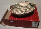 Fitz and Floyd Vista Bella Artichoke Snack Bowl/CandyDish/TrinketTray (3c15)-NIB