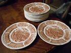 Alfred Meakin Fair Winds Staffordshire England Set Twelve 7