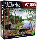 Karmin International J. Charles Afternoon at The Lake Puzzle 1000-Piece