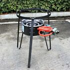 Cast Iron Stove Stand Single Gas Stove Large Propane Burner BBQ LPG Outdoor NEW