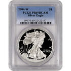 2004 W American Silver Eagle Proof PCGS PR69 DCAM