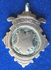 Vintage Silver & Gold Medal / Fob / Pendant 1925 -  William Adams - not engraved