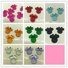 NEW 6PCS Minnies BOW Flat Back Resin Scrapbooking For phone Craft coLOR U PICK
