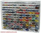 Hot Wheels Diecast Display Case 144 CAR 164 Fits Redlines