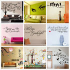 Home Decor Tree Removable Wall Decal Sticker Quote Winyl wall Art For Kids Room