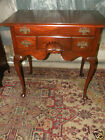 High End Drexel Mahogany Furniture Entry Side Table Dovetail