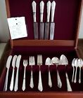 VTG Reed & Barton Silverplate Flatware 1932 MADAMOISELLE 4pc setting for 4 +++