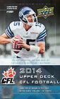 2014 Upper Deck CFL Football Cards Hobby Box with 24 packs, 144 cards