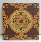 Mintons China Works Antique Floral Tile