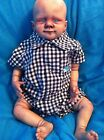 Reborn zombie ooak boy girl vampire fantasy art goth doll walking dead