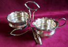 VINTAGE EPNS SILVERPLATE SUGAR AND CREAMER SET WITH CADDY**BUCKINGSHIRE/ENGLAND
