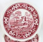 ONE FINE VINTAGE COPELAND SPODE ENGLAND DINNER PLATE TOWER PINK RECENT GADROON