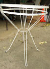 Mid-Century Modern Wrought Iron Table,Art Deco,Patio,Lawn,Needs Round Glass Top