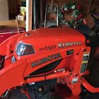 Kubota BX 2360 with 60 inch mowing deck LoaderFor