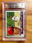 2001 Albert Pujols Fleer Tradition #451 Rookie - BGS 9 Mint (with Two 9.5 Subs)