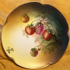 Antique J & C/Jaeger & Co Bavaria Louise Hand Painted Strawberry Plate A. Koch