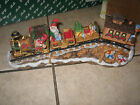 Fitz & Floyd Holiday Hamlet Blizzard Express Train complete with box 19/747