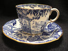 ROYAL CROWN DERBY MIKADO TEA CUP AND SAUCER
