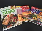 Weight Watchers 3 Book Lot Dining Out Food Companion Simply Solo Recipes