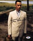TOM HANKS SIGNED FORREST GUMP 8X10 PHOTO! AUTOGRAPH! OSCAR WINNER! PSA DNA!