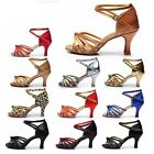 Multi Color High Quality Latin Dance Shoes for Women Ladies Girls Tango