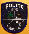 NYPD Narcotics Unit Shoulder Patch