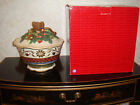 Fitz & Floyd Jolly Ole St. Nick Covered Bowl Tureen NIB