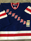 New York Rangers Blue 1970's 1980's Vintage Authentic On Ice 2.0 Pro Jersey
