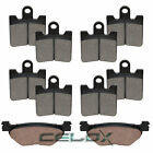 Front Rear Brake Pads For Yamaha FJR1300A 2006 2007 2008 2009 2010 2011-2017