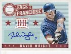 David Wright Mets 2013 Hometown Heroes Face Of The Franchise Auto sp