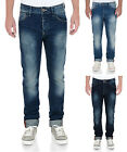 Lee Cooper Fashion Jeans Mens New Straight Fit Vintage Faded Denim Pants Harry