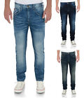 Lee Cooper Fashion Jeans Mens New Slim Tapered Fit Vintage Faded Denim Pants
