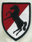 Vietnam Era US Army 11th Armored Cavalry Regiment Color Patch
