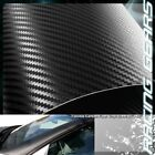 For Mazda Toyota 60x50 Flexible Carbon Fiber Vinyl Film Wrap Roll Sheet Decal