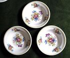3 Colonial Syracuse China Berry Bowls (2) 4-11 & 5-11 Made for Restaurant Use