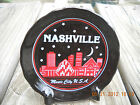 Vintage Nashville Tennessee Music city U.S.A.  plate stars moon night life