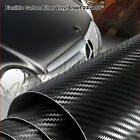 For Mitsubishi 24 x 50 Carbon Fiber Vinyl Wrap Sheet Sticker Decal Roll Film