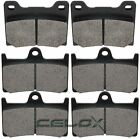 Front Rear Brake Pads For Yamaha YZF600R 1997 1998 1999 2000 2001 2002 2003-2007