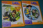 *NEW* iXL Fisher Price LOT of 2 Learning Games *Toy Story 3, Green Lantern 3D