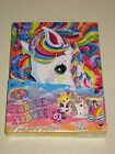 Lisa Frank Horse Pony Kitten Puppy Puzzle Keeper 3 Ring Binder Sticker Toy Lot