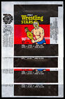 1985 TOPPS OPC O PEE CHEE WWF PRO WRESTLING STARS 4 WAX PACK WRAPPERS HULK HOGAN