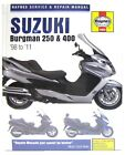 Suzuki AN 250 K7 Skywave (Type S) 2007 Haynes manual