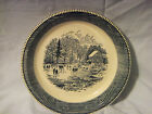 (Small Factory Chip) **ROYAL CHINA JEANNETTE CURRIER & IVES 10