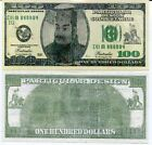 "HEAVEN HELL BANKNOTE 100 DOLLARS $100 BIILL ""FUNERAL CEREMONY"" LOT 5 PCS"